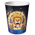 Circus Big Top Birthday Cups (8)